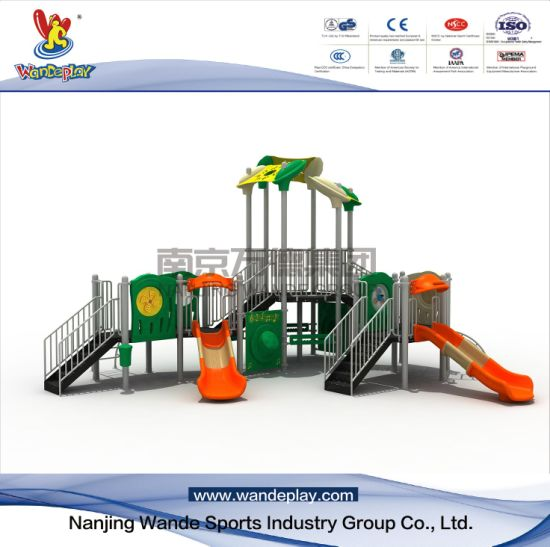 Outdoor Modern Playground for Children with Ladder