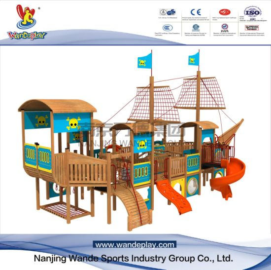 Theme Park Children Outdoor Customized Playset Equipment