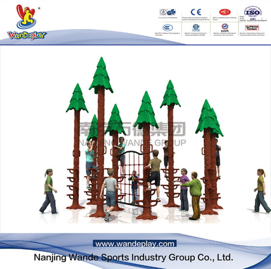 Wandeplay Sequoia Climbing Amusement Park Children Outdoor Playground Equipment with Wd-HP104