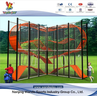 Wandeplay Climbing Amusement Park Children Outdoor Playground Equipment with Wd-030803