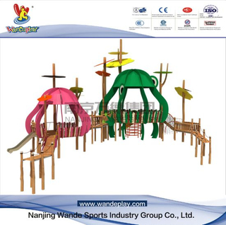 Wooden Outdoor Children Customized Playset