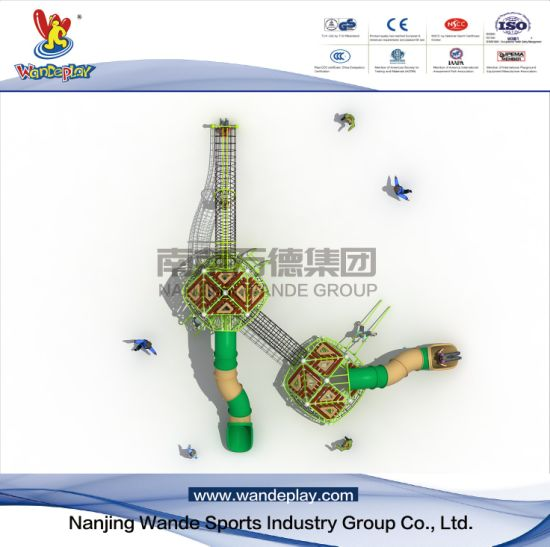 Amusement Park Nest Climbing Children Outdoor Playground Equipment