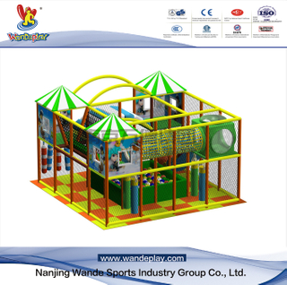 Castle Adventure Indoor Playground in Shopping Mall for Children