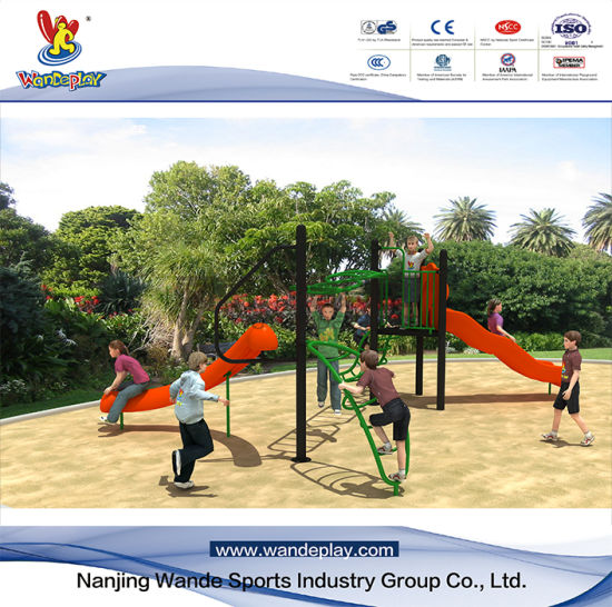 Wandeplay Amusement Park Net Climbing Children Outdoor Playground Equipment with Wd-Sw0120