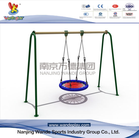 Outdoor Garden Galvanized Swing Playset for Kids