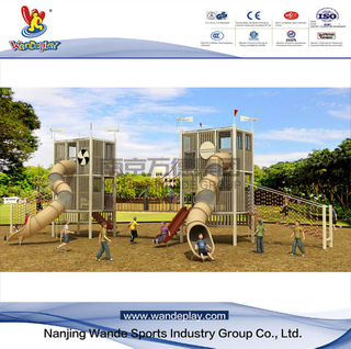 Children Modular Play System Outdoor Playground Equipment