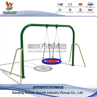 Outdoor Garden Swing Playset Nest Seat for Kids