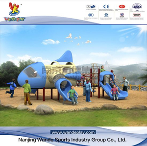 Outdoor Playground Equipment Aircraft Playset for Toddlers