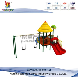 Swing Combination Amusement Park Children Outdoor Classical playset