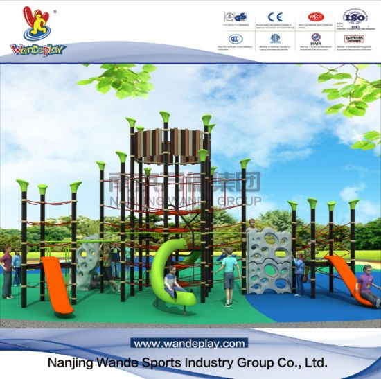 Wandeplay Climbing Net Amusement Park Children Outdoor Playground Equipment with Wd-Cl103