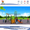 Outdoor Climbing Wall Playset Slide for School