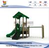 Outdoor Treehouse Playsets with Slide for Toddler in Backyard