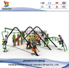 Outdoor Climbing Net Rope Ladder with Plastic Slide
