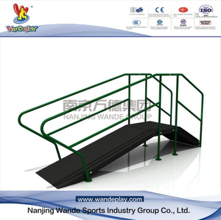 Outdoor Walkway with Ramp Exercise Senior Fitness Equipment