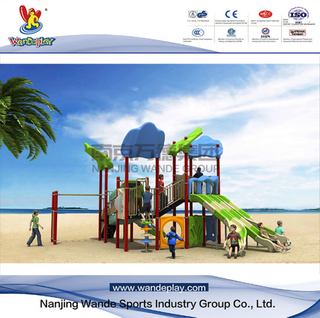 Outdoor Sailing Playground for Youth with Slide