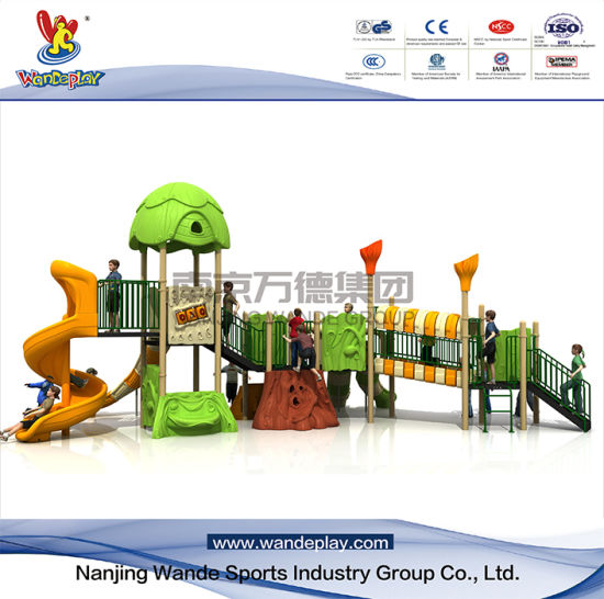 Tree House Playset Outdoor Playground for Schools