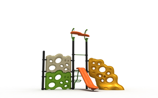 Kindergarten Outdoor Playground Rock Climbing Kit Playset for Children