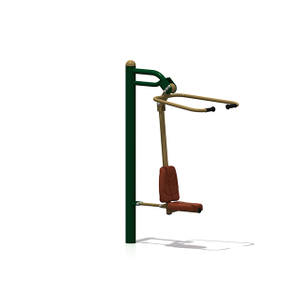 Outdoor Pull Down Challenger Fitness Equipment For Adults