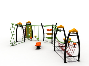 Adventure Park Outdoor Teenager Exercise Playground Climbing Playset