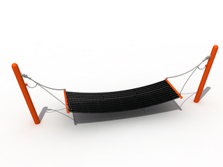 Kindergarten Outdoor Playground Swing Hammock Playset for Children